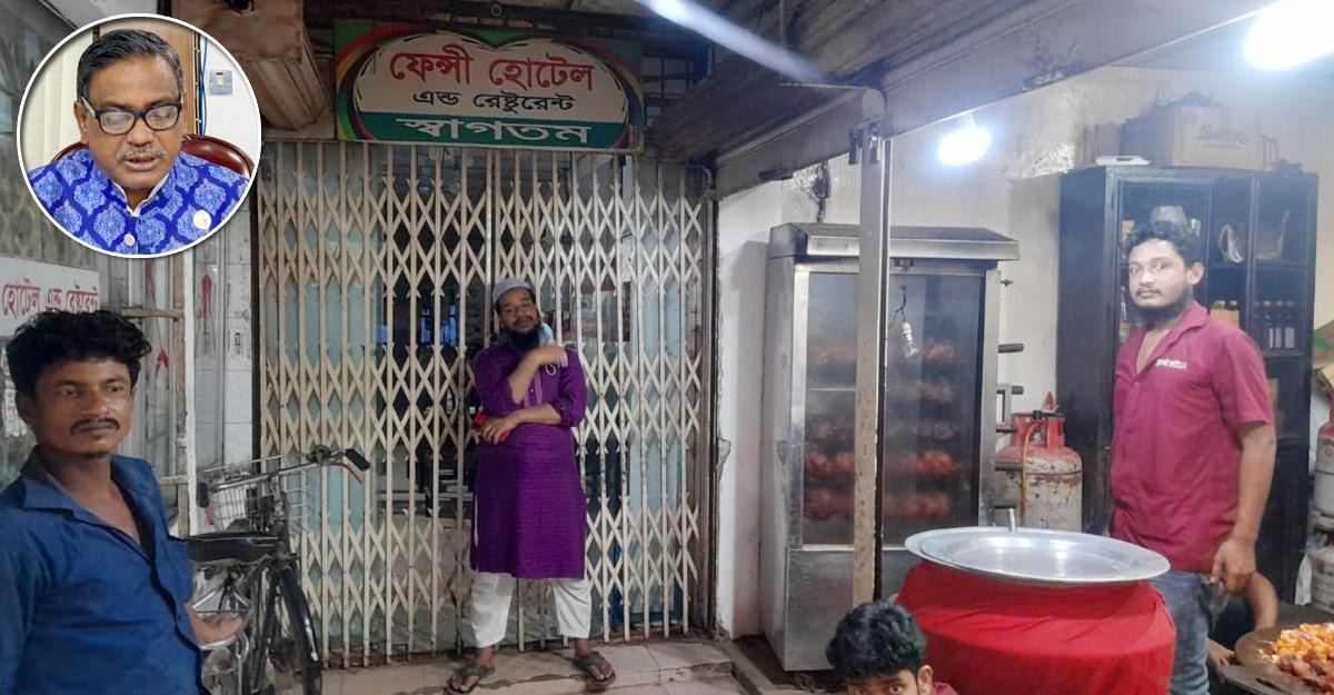 প্রতিপক্ষের কাছে খাবার বিক্রি, হোটেলে তালা দিলেন কাদের মির্জা!