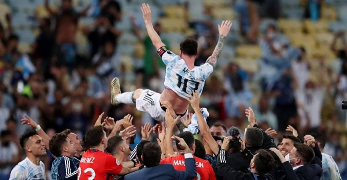 বিশ্বকাপের জন্য সেরা খেলাটা তুলে রেখেছে আর্জেন্টিনা