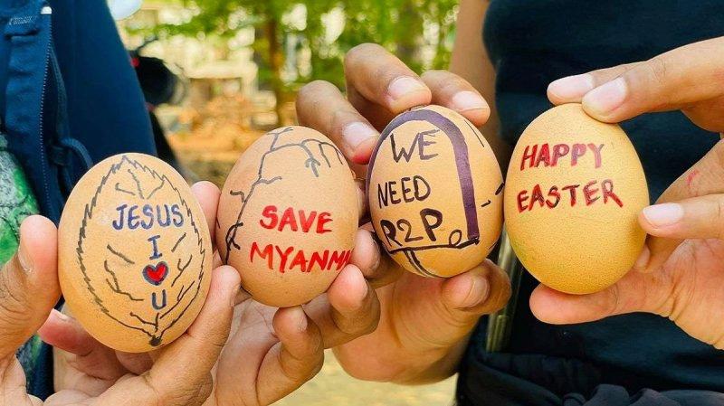Egg Protest