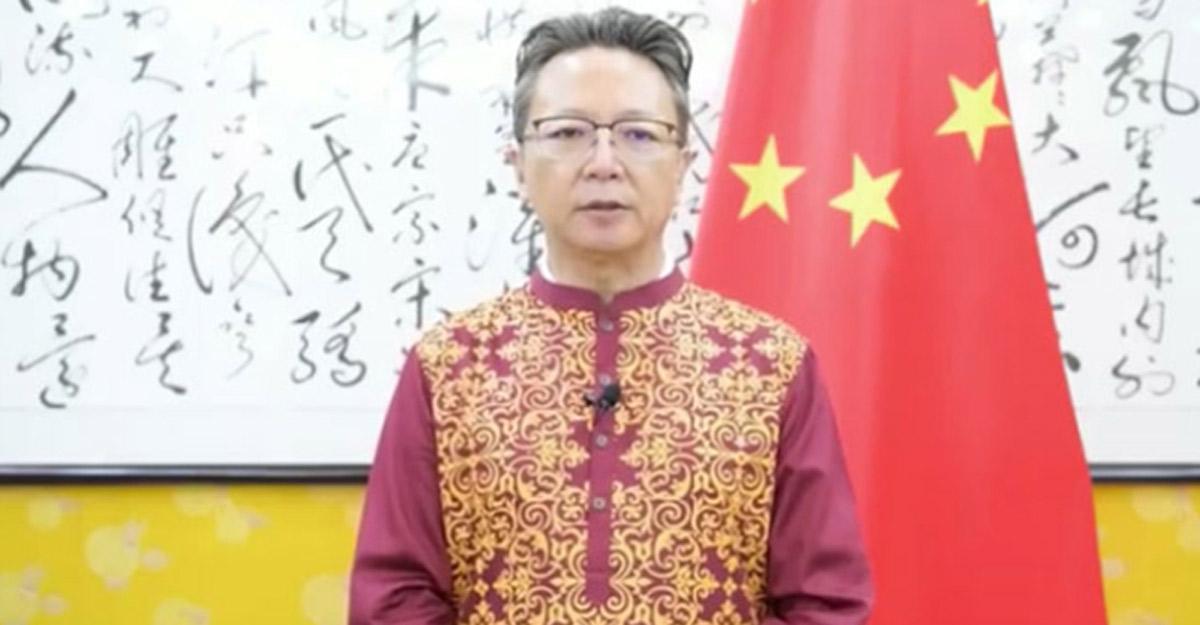 চীনা রাষ্ট্রদূতের ঈদের শুভেচ্ছা
