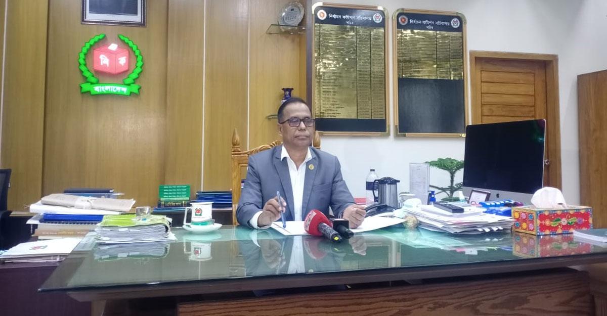 ডিসেম্বরের মধ্যে নারায়ণগঞ্জ সিটি নির্বাচন : ইসি সচিব